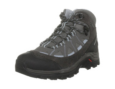 Bota Salomon Authentic Goretex W Gris/Azul/negro