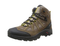 Bota Salomon Authentic LTR GTX Marrón/Negro/Amarillo