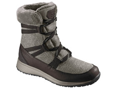 Bota Salomon Heika CS WTPF W Gris/Marrón