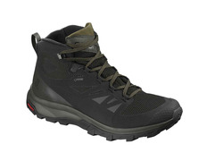Bota Salomon Outline GTX Negro/Kaki