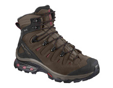 Bota Salomon Quest 4D 3 GTX W Marrón/Granate