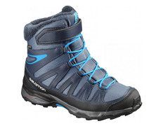Bota Salomon X Ultra Winter GTX J Azul/Negro