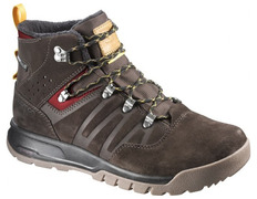 Bota Salomon Utility TS CS WP Marrón oscuro