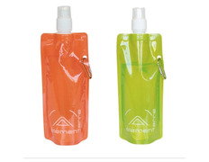 Botella Plegable Elementerre Pure Water 480 Naranja