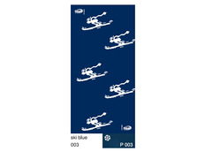 Braga Wind Polarwind Ski Blue WP003