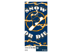 Braga Wind Snow or Die Blue 1010