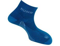 Calcetín Mund doble Trekking/Running antiampollas Azul