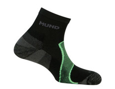 Calcetín Mund Trail/Cross Negro/Verde