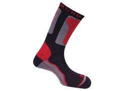 Calcetines Mund Roller Rojo/Negro/Gris