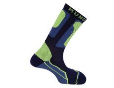 Calcetines Mund Roller Verde/Azul marino
