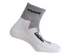 Calcetines Mund Running Blanco/Gris
