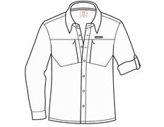 Camisa Trango Nizuc 950