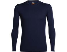 Camiseta Icebreaker Oasis LS Crewe Marino 200