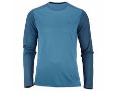 Camiseta Salomon Stroll LS Tee Azul