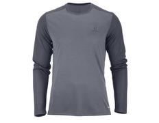 Camiseta Salomon Stroll LS Tee Gris