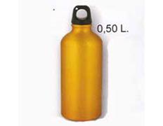 Cantimplora Aluminio 0,5 Litros Amarillo
