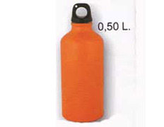 Cantimplora Aluminio 0,5 Litros Naranja