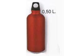 Cantimplora Aluminio 0,5 Litros Rojo