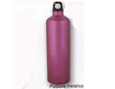 Cantimplora Aluminio Brillo 1 Litro Violeta