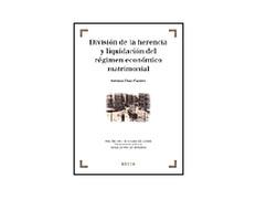 División de La Herencia y Liquidación del Régimen.A.Díaz Fuentes