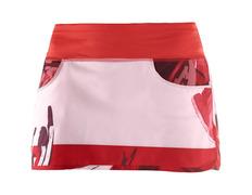 Falda Salomon Elevate Flow Skirt Rojo