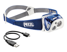 Frontal Petzl Reactik Azul