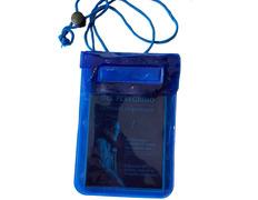Funda azul impermeable para Credencial para Compostela Azul