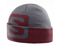 Gorro Salomon Big Fourax Beanie Gris/Teja