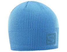 Gorro Salomon Logo Beanie Azul Cielo