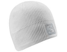 Gorro Salomon Logo Beanie Blanco