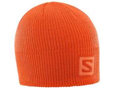 Gorro Salomon Logo Beanie Naranja