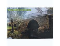Imán Ponte Ribeira Sarria 8 x 5,4 cm