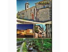Imán Sarria multivista vertical 5,4 x 8 cm