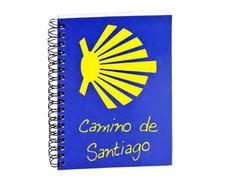 Libreta Estrella Camino de Santiago