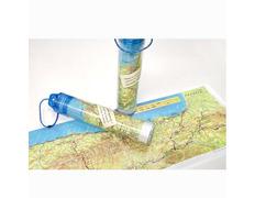 Mapa Camino de Santiago enrollable 66 x 24 cm