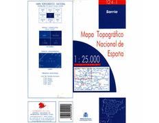 Mapa A Seara Caurel 157-3 IGN 1:25.000