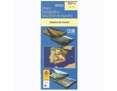 Mapa Seoane Caurel 157-1 IGN 1:25.000