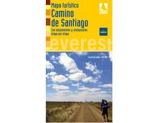 Mapa turístico del Camino de Santiago 2010