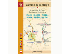 Mapas etapas del Camino 2017 - John Brierley