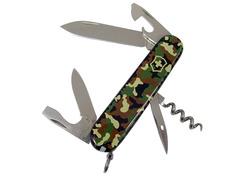 Navaja Victorinox Spartan 12 usos 91 mm Verde Camuflaje