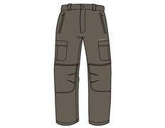 Pantalón desmontable Trango Jalla 720