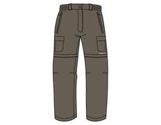 Pantalón Desmontable Trango Sausa 720