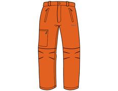 Pantalón desmontable Trango Temot 750