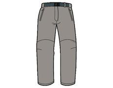 Pantalón Trango Sangha 5D0