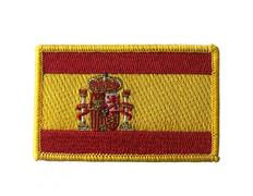 Parche bordado Bandera de España grande