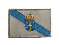 Parche Bordado Bandera de Galicia Grande