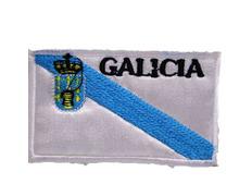 Parche bordado tela Bandera de Galicia