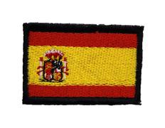 Parche bordado tela Bandera de España