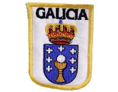 Parche bordado tela Escudo de Galicia