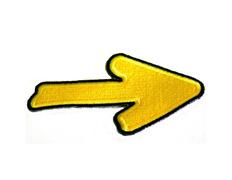 Parche bordado tela Flecha Amarilla del Camino grande